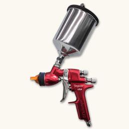 CP-J100H-W-PPS Low CFM Gravity Feed Gun