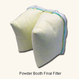 Powder Booth Two-Pocket Secondary Filter